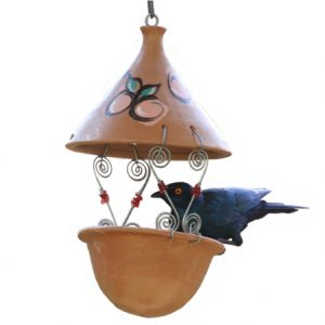 Suet feeder (Terracotta)