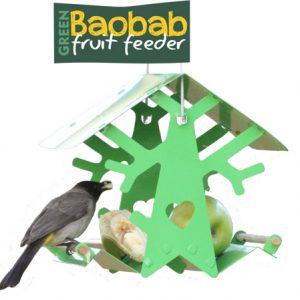 Baobab Fruit Feeder (Green)