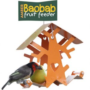 Baobab Fruit feeder (Amber)