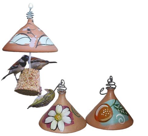 terracotta seed bell