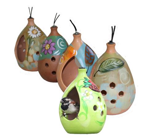 terracotta feeders