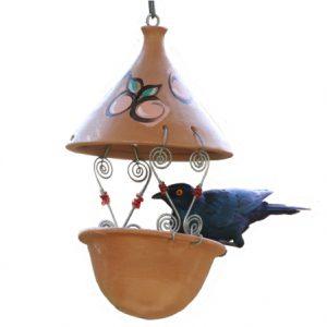 Suet feeder (Terracotta)