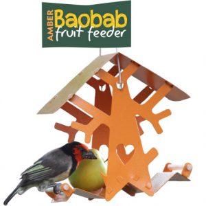 Baobab Fruit feeder (Amber)